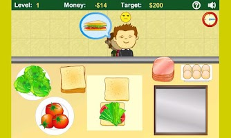 Screenshot of Sandwich Shop Free