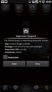 Reboot Widget - screenshot thumbnail