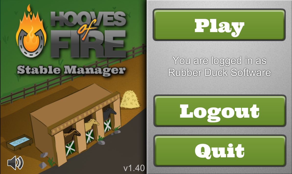Hooves of Fire Stable Manager - screenshot