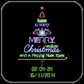 Neon Christmas Tree Free LWP