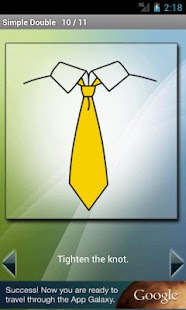 How to Tie a Tie - screenshot thumbnail