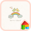 love cloud dodol theme icon