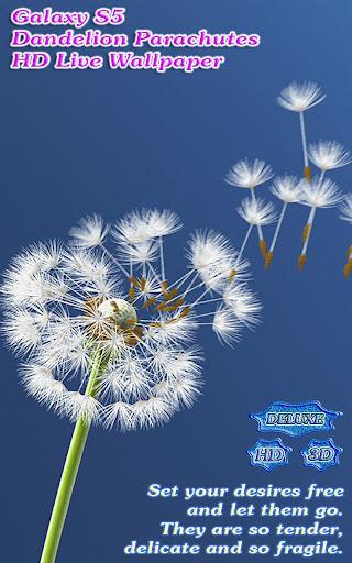 Galaxy S5 Dandelion Parachutes
