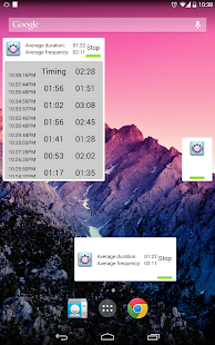 Contraction Timer Screenshot 15
