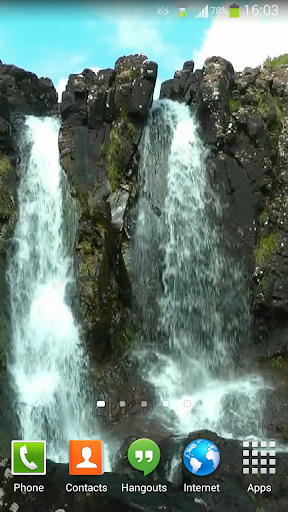 Waterfall Live Wallpaper HD 5