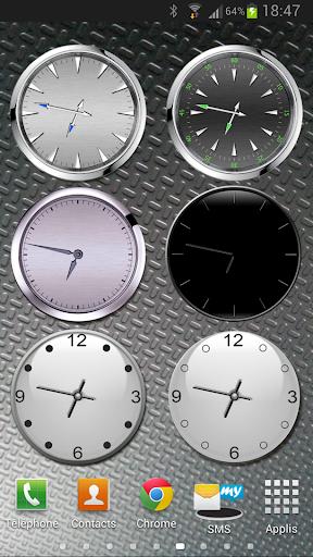 收集的模拟时钟