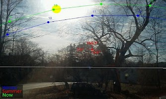 Screenshot of Sun Tracker AR