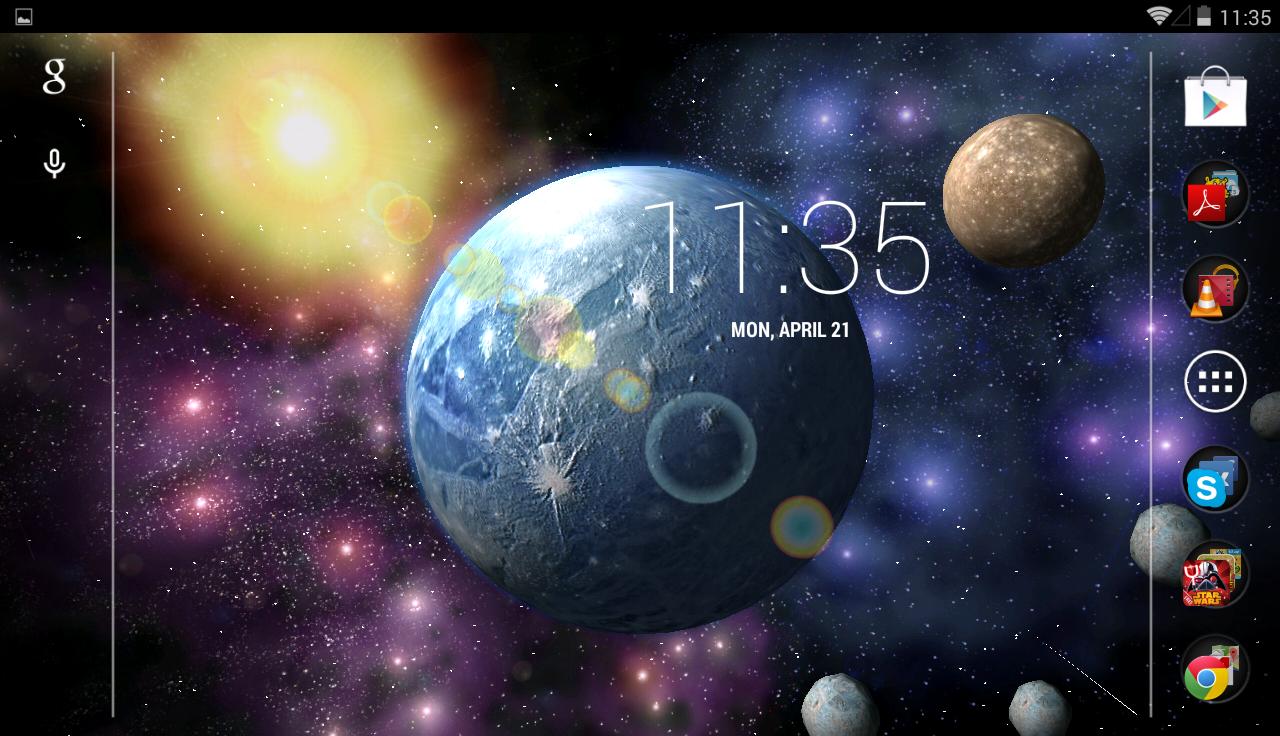 Unreal Space HD- screenshot
