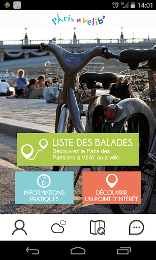 Guide Paris à Vélib'