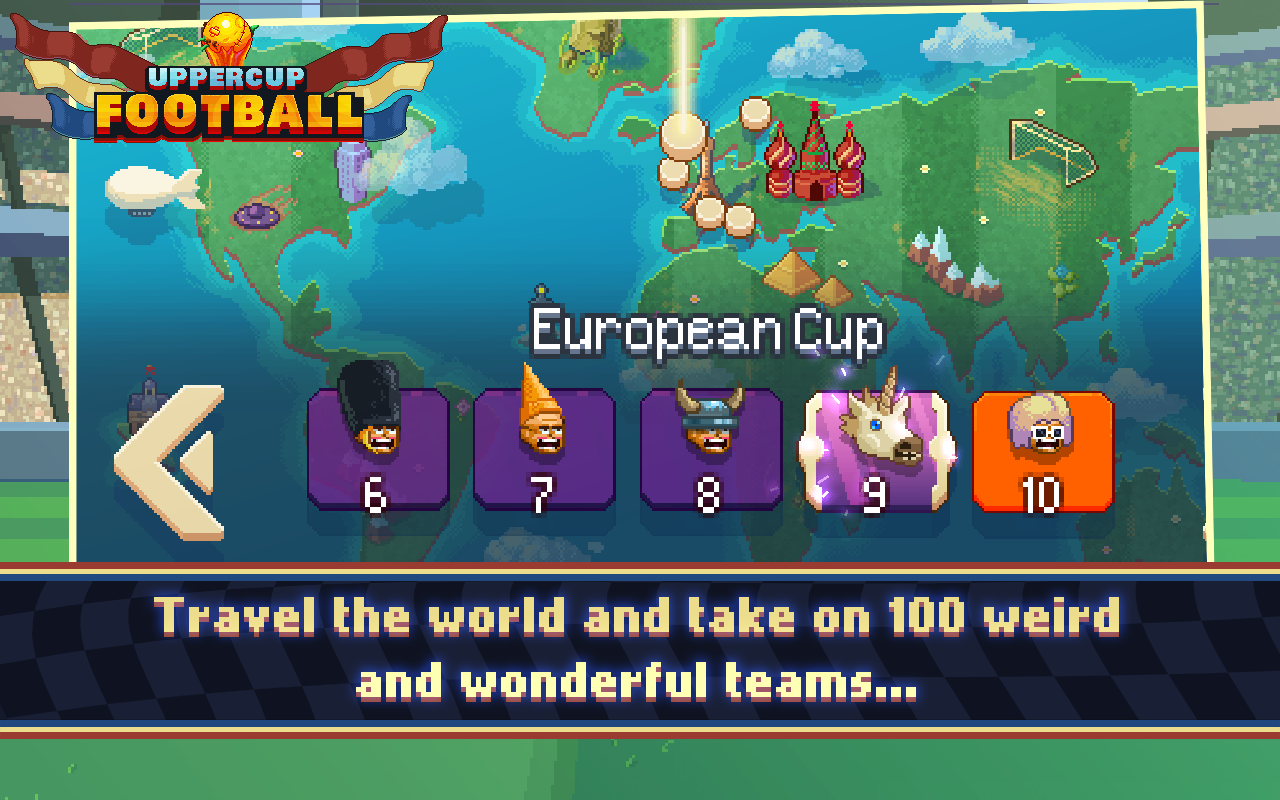 Uppercup Football (Soccer)- screenshot