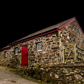 The Red Cottage by Rach Mathias - Buildings & Architecture Homes ( cottages & barns, architecture )