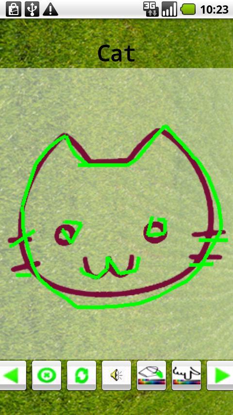 Baby Finger Draw- screenshot