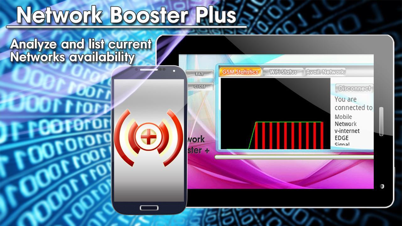 Network Booster Plus FREE - screenshot