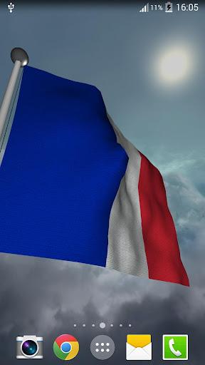 France Flag - LWP