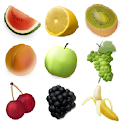 Top Ten healthy fruit logo