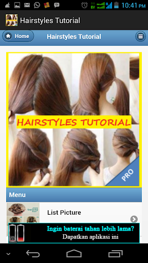 Hairstyles Tutorial For Girls