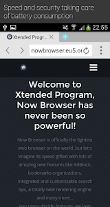 Now Browser Extended(Material) v1.5.5