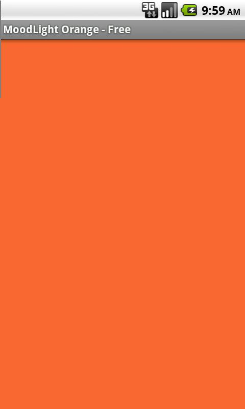 MoodLight Orange - Free- screenshot