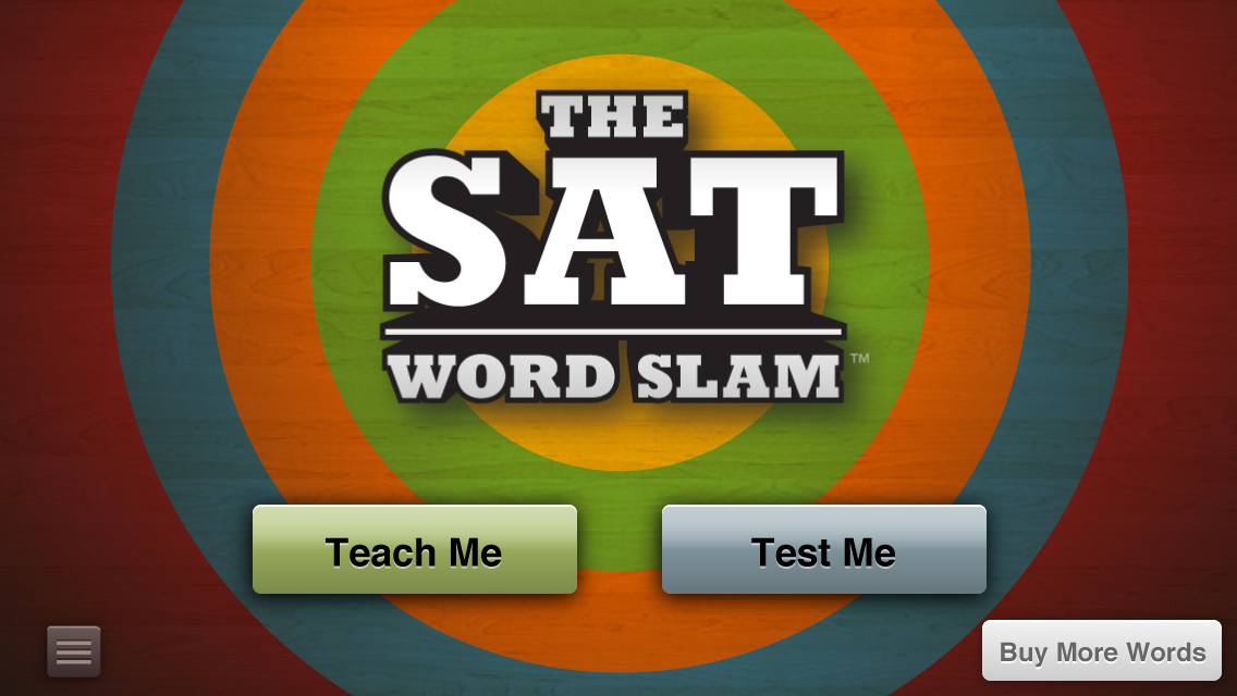 SAT Word Slam- screenshot