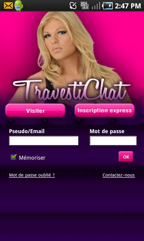 Travesti Chat - screenshot