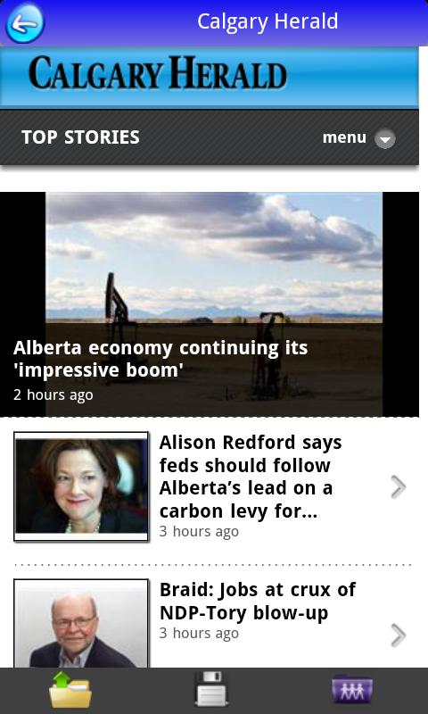 Canada News in App- FREE - screenshot