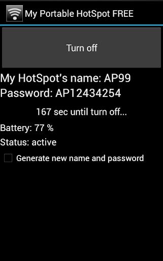 My Portable HotSpot FREE