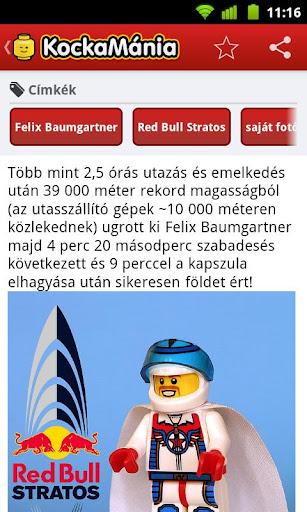 【免費娛樂App】LEGO - KockaMania-APP點子
