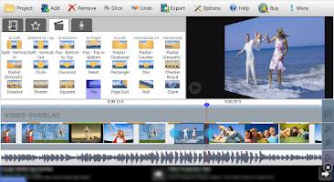Screenshot of VideoPad Video Editor Free