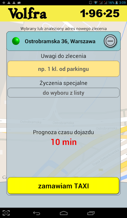 Volfra Taxi 1-96-25- screenshot