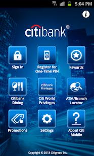 Citibank Australia - screenshot thumbnail