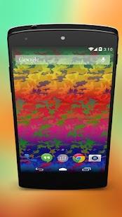 Pride Rainbow Camouflage - screenshot thumbnail