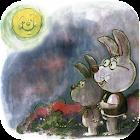 Moon and Rabbit icon