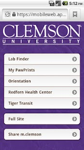 m.Clemson - screenshot thumbnail