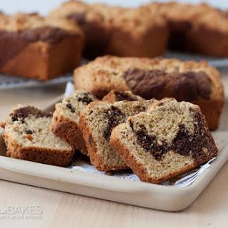 Peanut Butter Chocolate Swirl Bread
