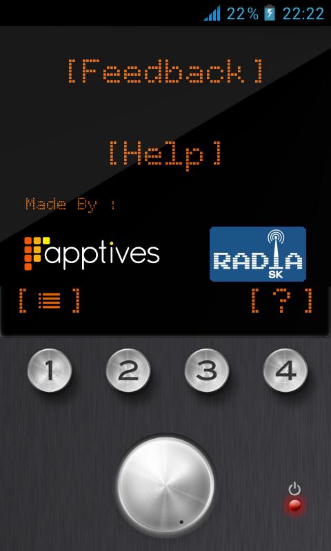 radia.sk - screenshot