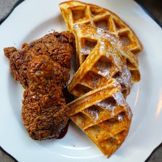 Fried Chicken With Coffee Molasses