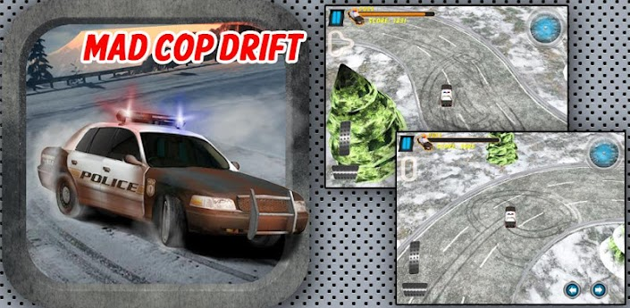 Mad Cop - Car Race and Drift - дрифт на полицейских машинах игра для андроид