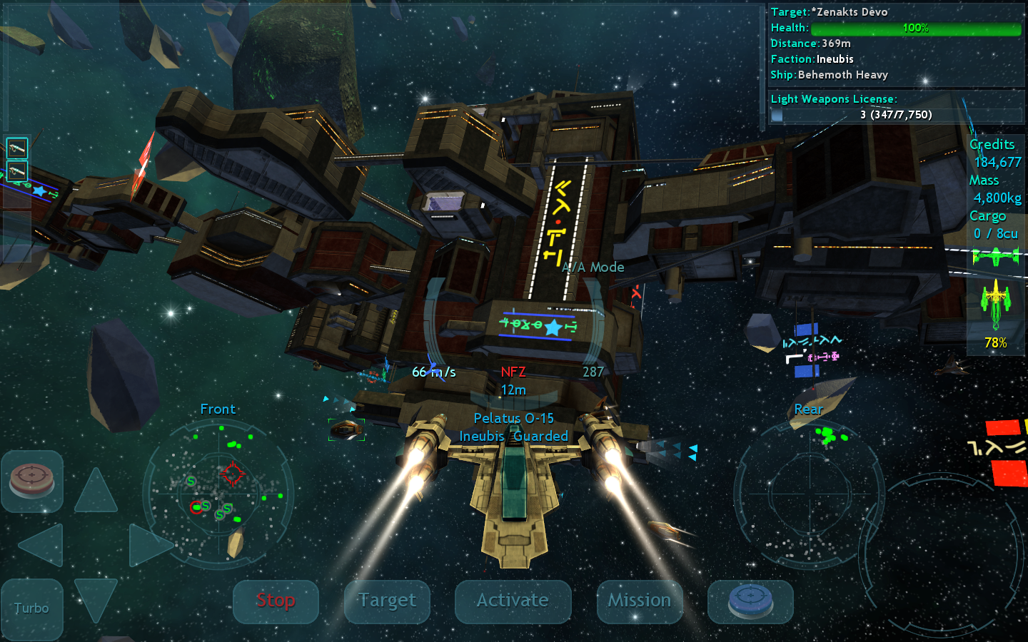 Vendetta Online (3D Space MMO)- screenshot