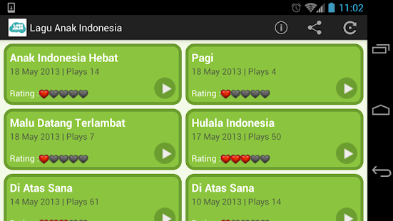 Lagu Anak Indonesia- screenshot thumbnail