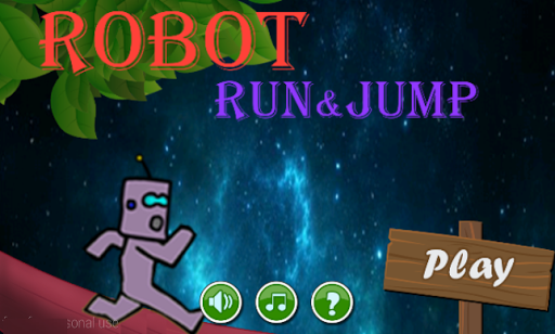 Robot Run And Jump
