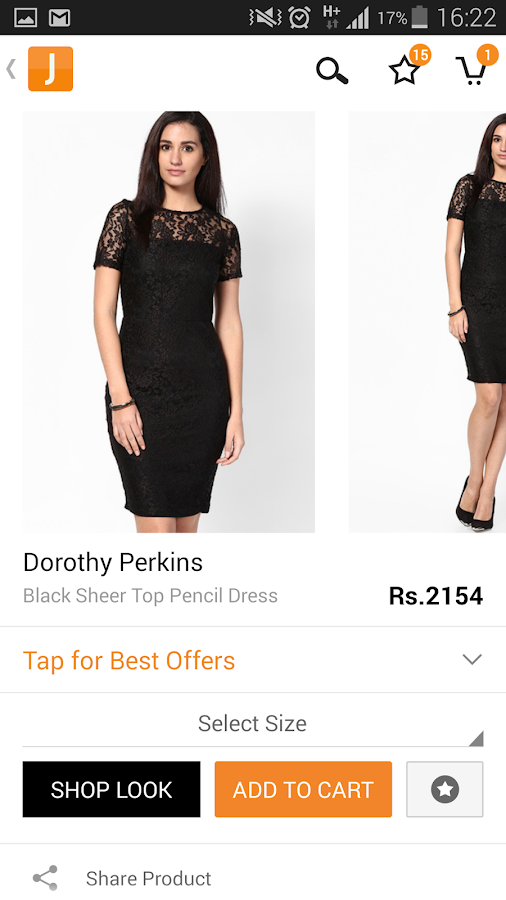 Jabong online shopping is all about providing chic and affordable fashion apparels and accessories to the customers. You will find only the chicest of the products and best saving offers on Jabong, be it footwear, bags, jewelry, accessories or clothing.5/5(K).