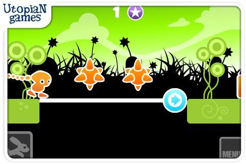 "Игра ""Wild Jumping"" для планшетов на Android"