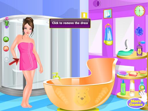 護士洗澡的女孩遊戲