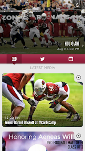 Arizona Cardinals Mobile- screenshot thumbnail