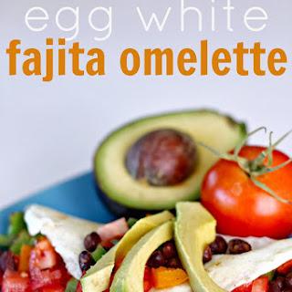 Egg White Fajita Omelette