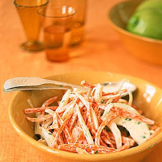 Carrot, Apple, and Fennel Slaw