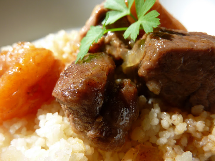 Lamb with Honey and Apricots Recipe