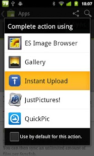 Instant Upload - screenshot thumbnail
