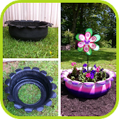 DIY Used Tires Ideas