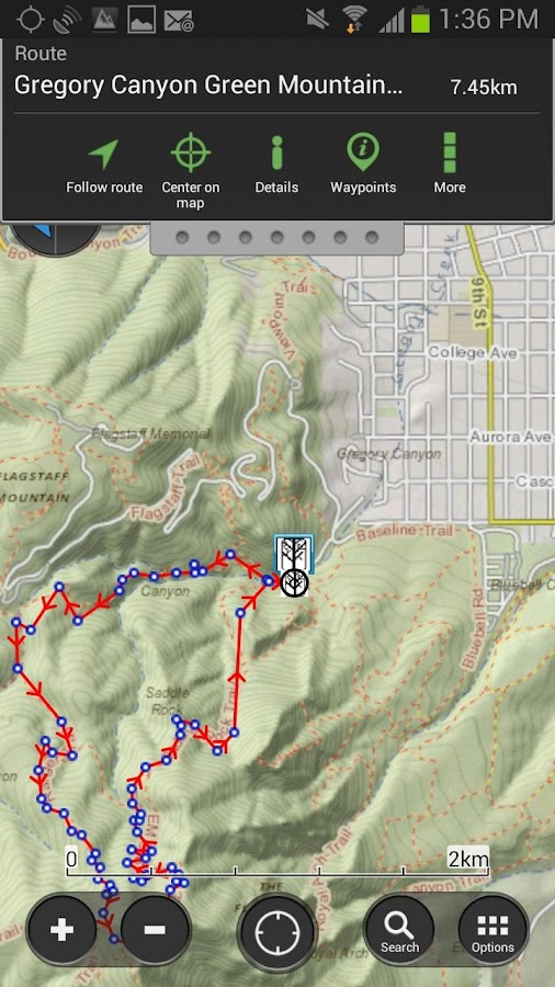 ViewRanger GPS & Topo Maps - screenshot